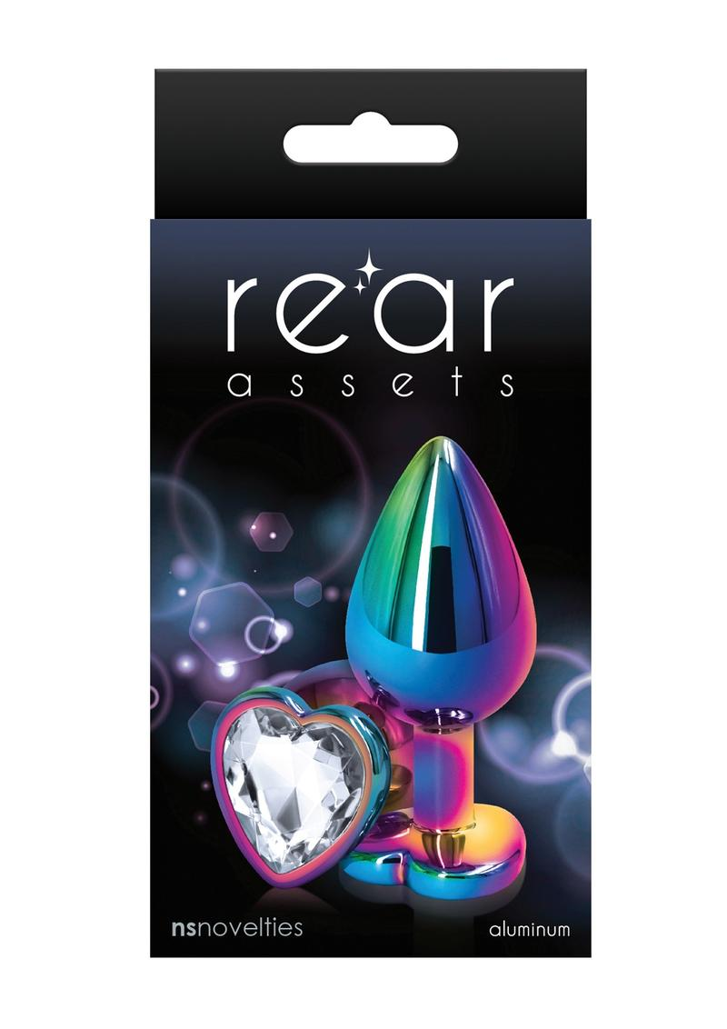 Rear Assets Multicolor Heart Med Clear