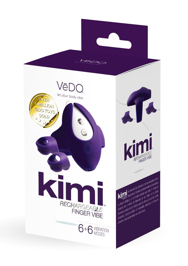 Kimi Recharge Dual Finger Vibe Deep Purp