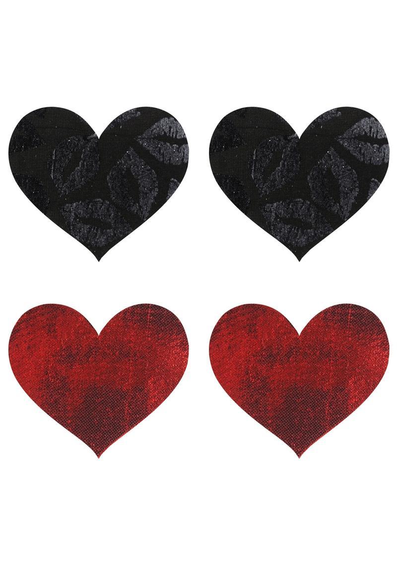 Stolen Kisses Hearts Pasties