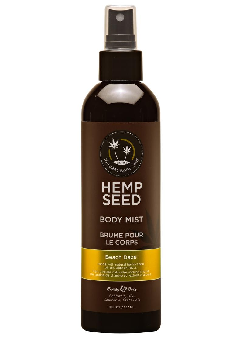 Earthly Body Hemp Seed Body Mist Beach Daze 8oz