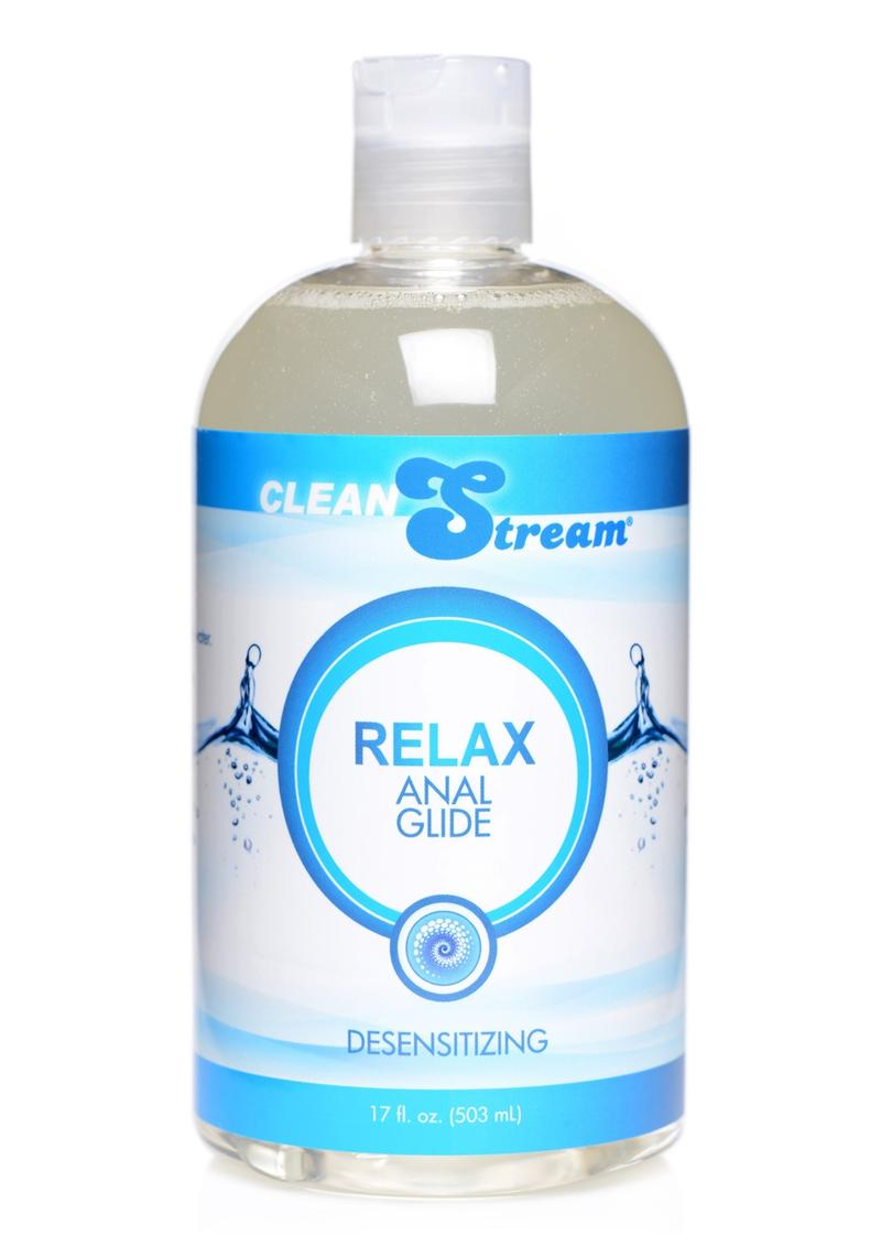Clean Stream Relax Anal Glide 17oz