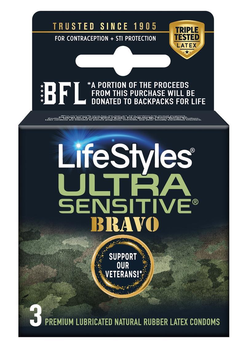 Lifestyles Sensitive Bravo 3`s