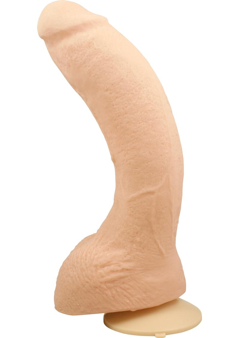 Signature Cocks Jeff Stryker Dildo 10in - Vanilla