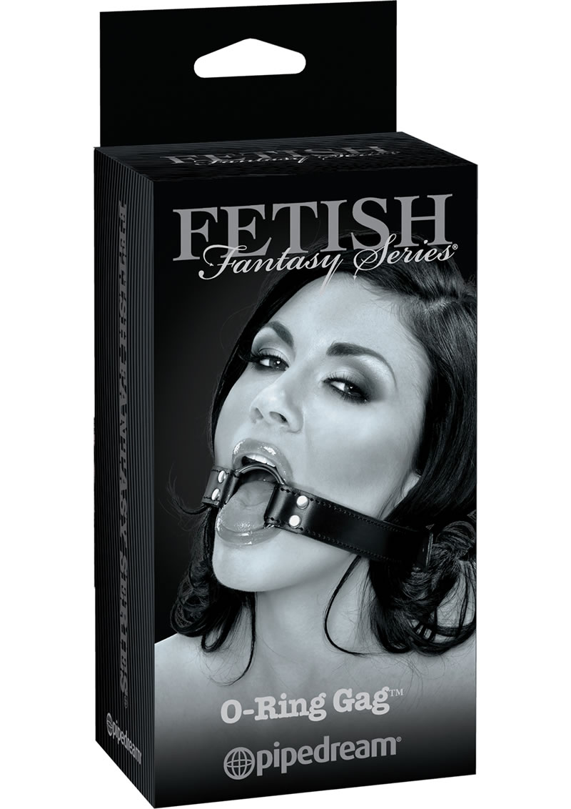 Fetish Fantasy Series Limited Edition O-Ring Gag Black