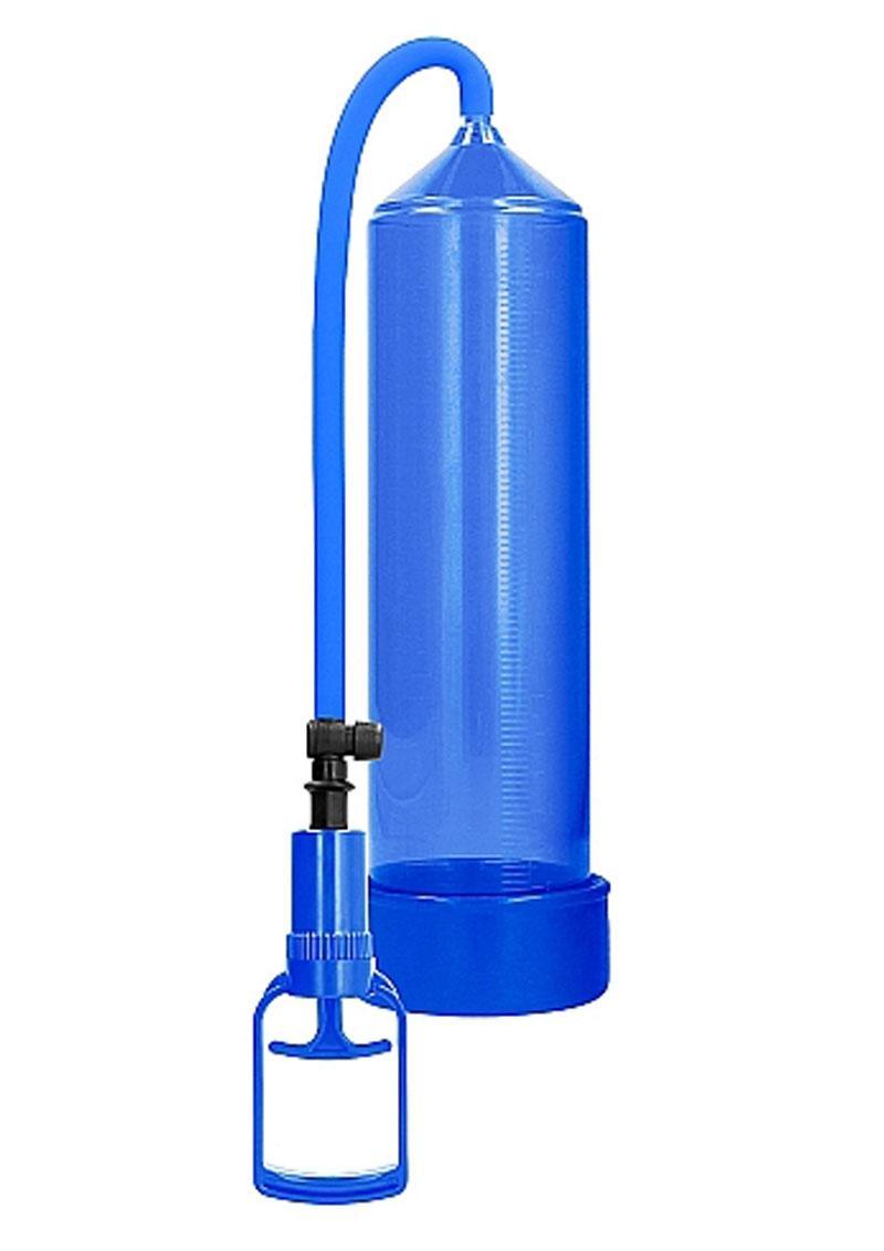 Pumped By Shots Comfort Beginner Penis Pump - Blue