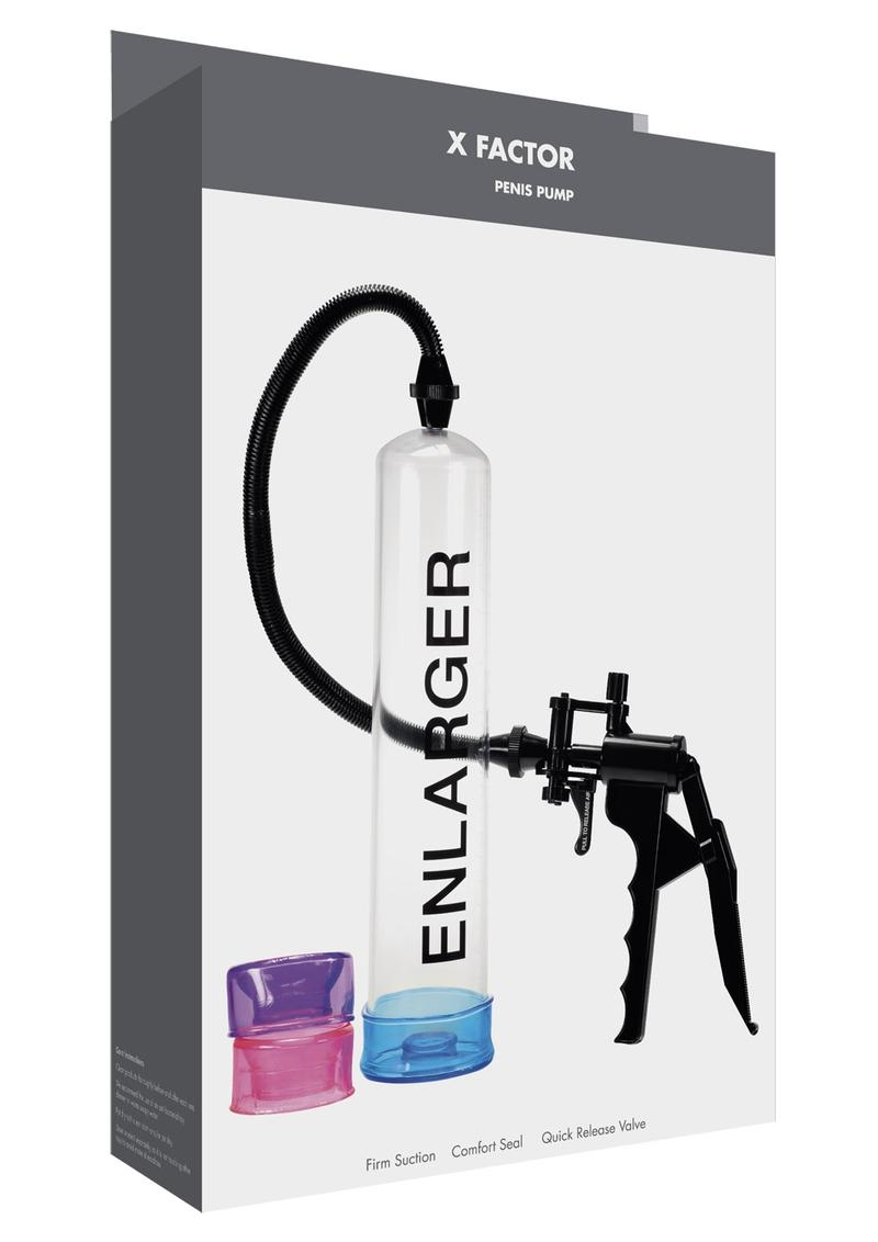 Linx X Factor Penis Pump - Clear