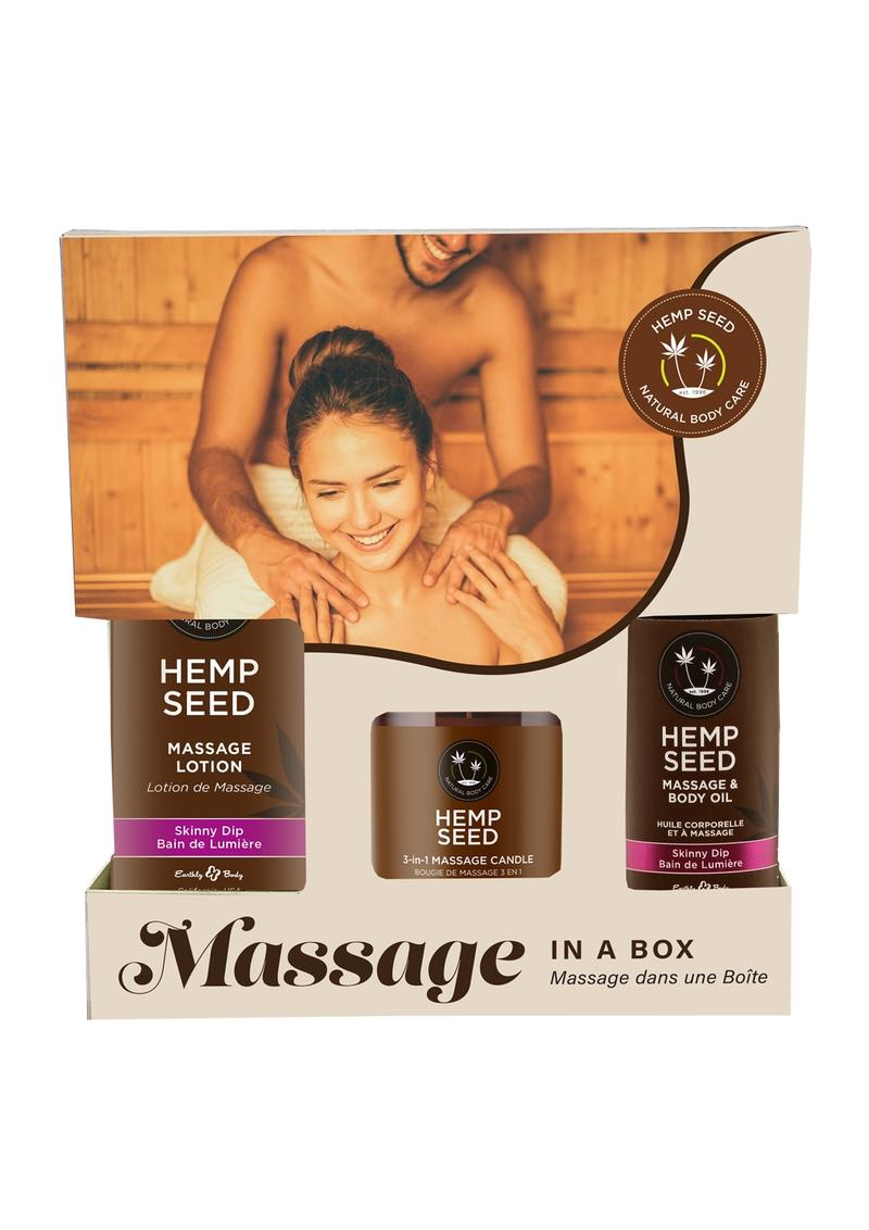 Earthly Body Relax Your Senses Gift Set Limited Edition Skinny Dip