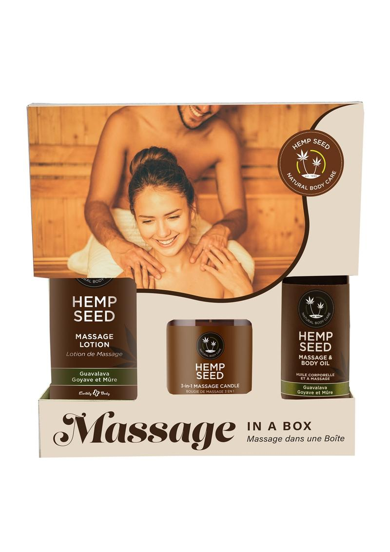 Earthly Body Relax Your Senses Gift Set Limited Edition Guavalava