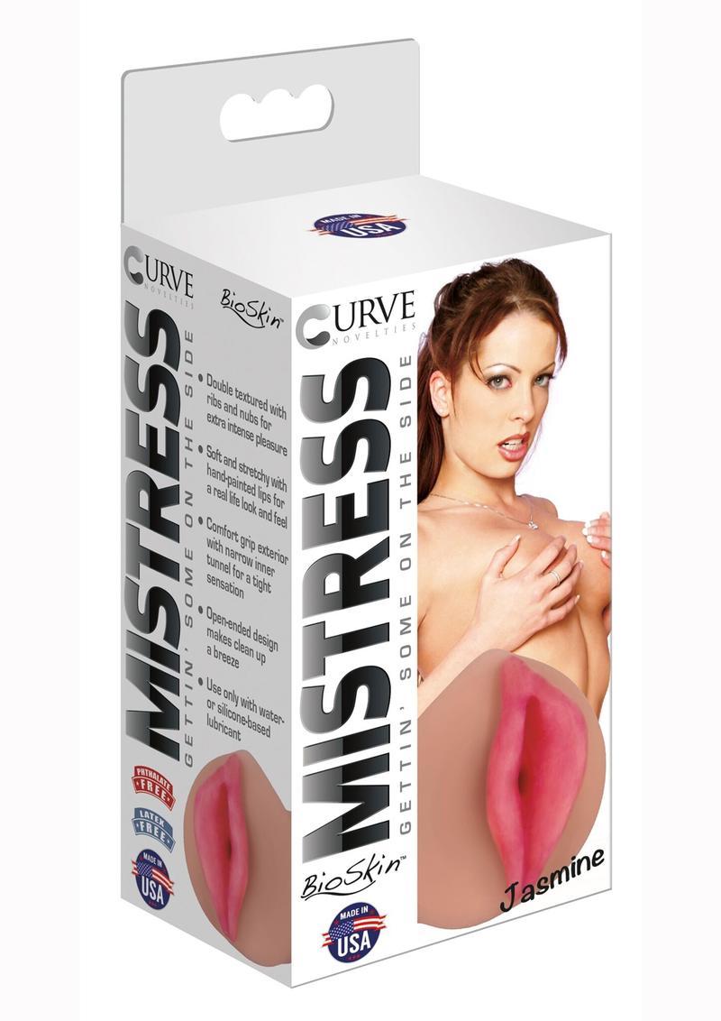 Mistress Jasmine BioSkin Stroker - Pussy - Caramel
