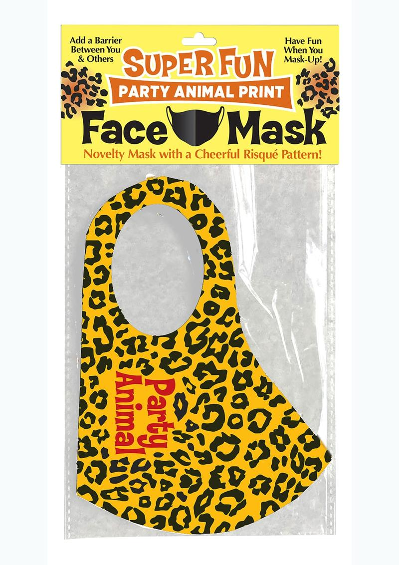 Super Fun Party Animal Mask - Gold/Black