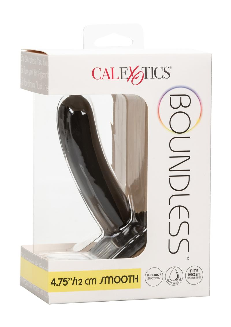 Boundless Silicone Smooth Probe 4.75in - Black