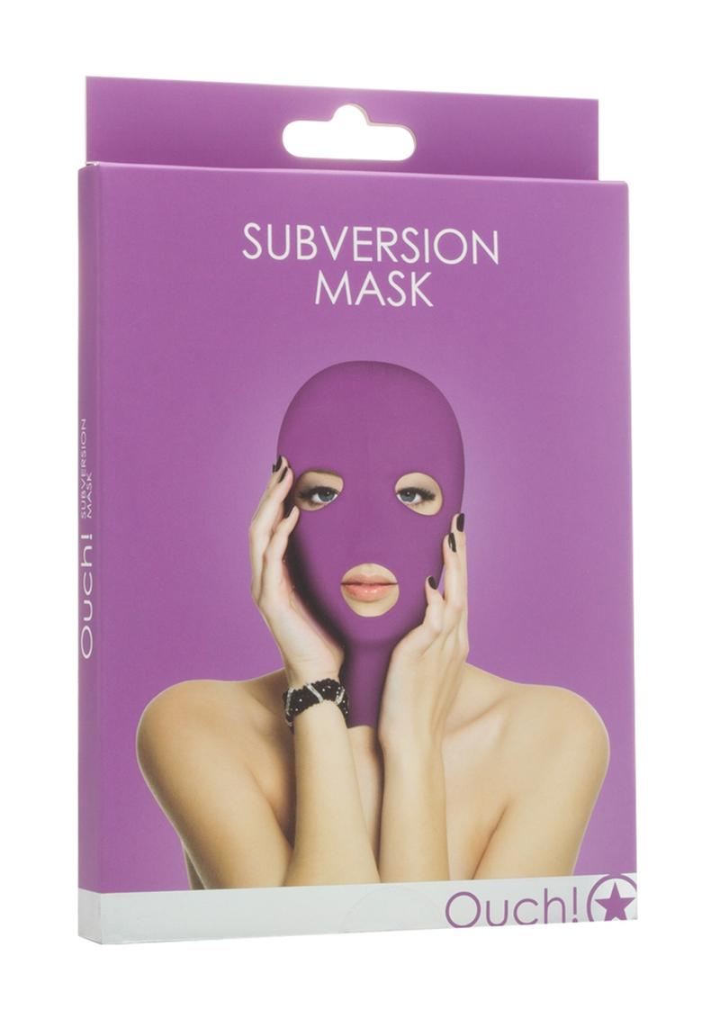 Ouch! Subversion Mask - Purple