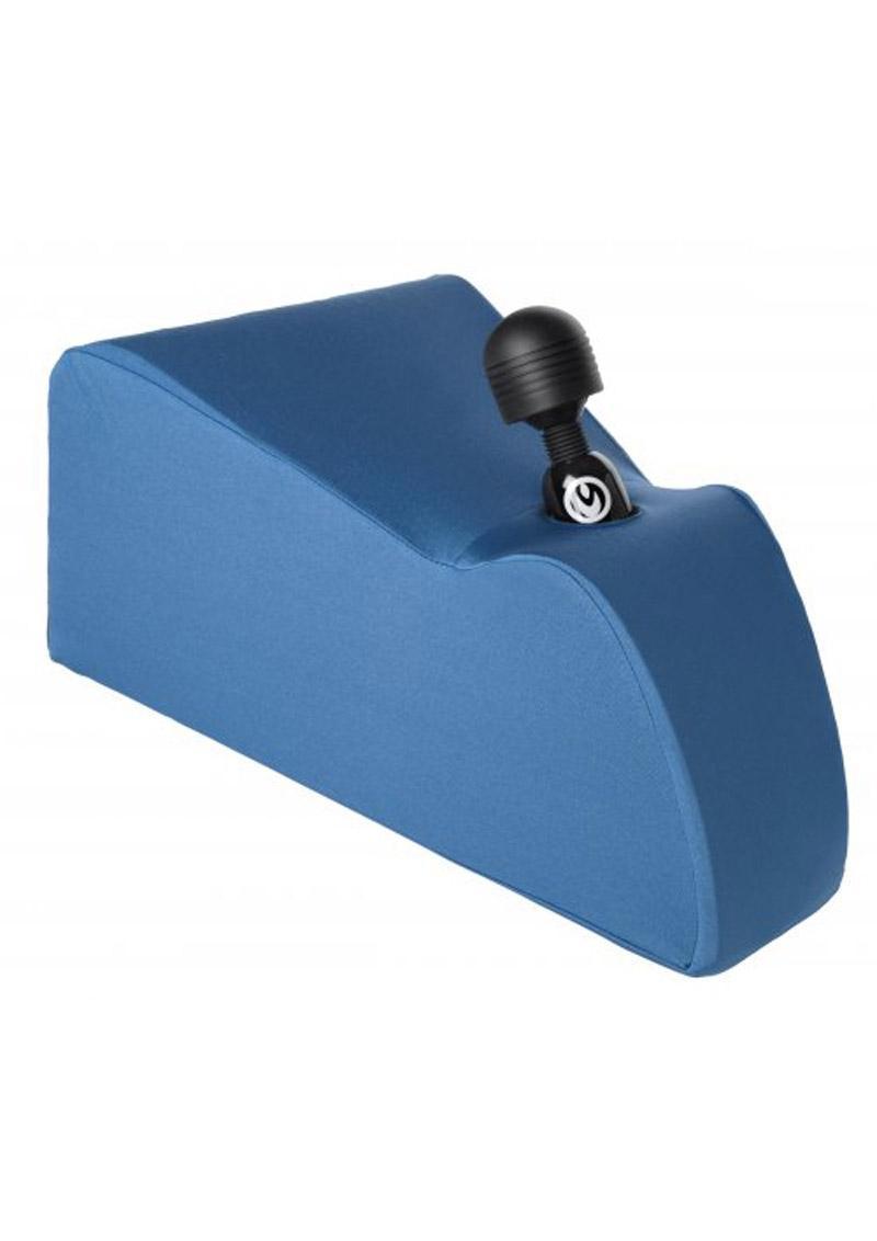 Wand Essentials Deluxe Ecsta-Seat Wand Massager Positioning Cushion - Blue