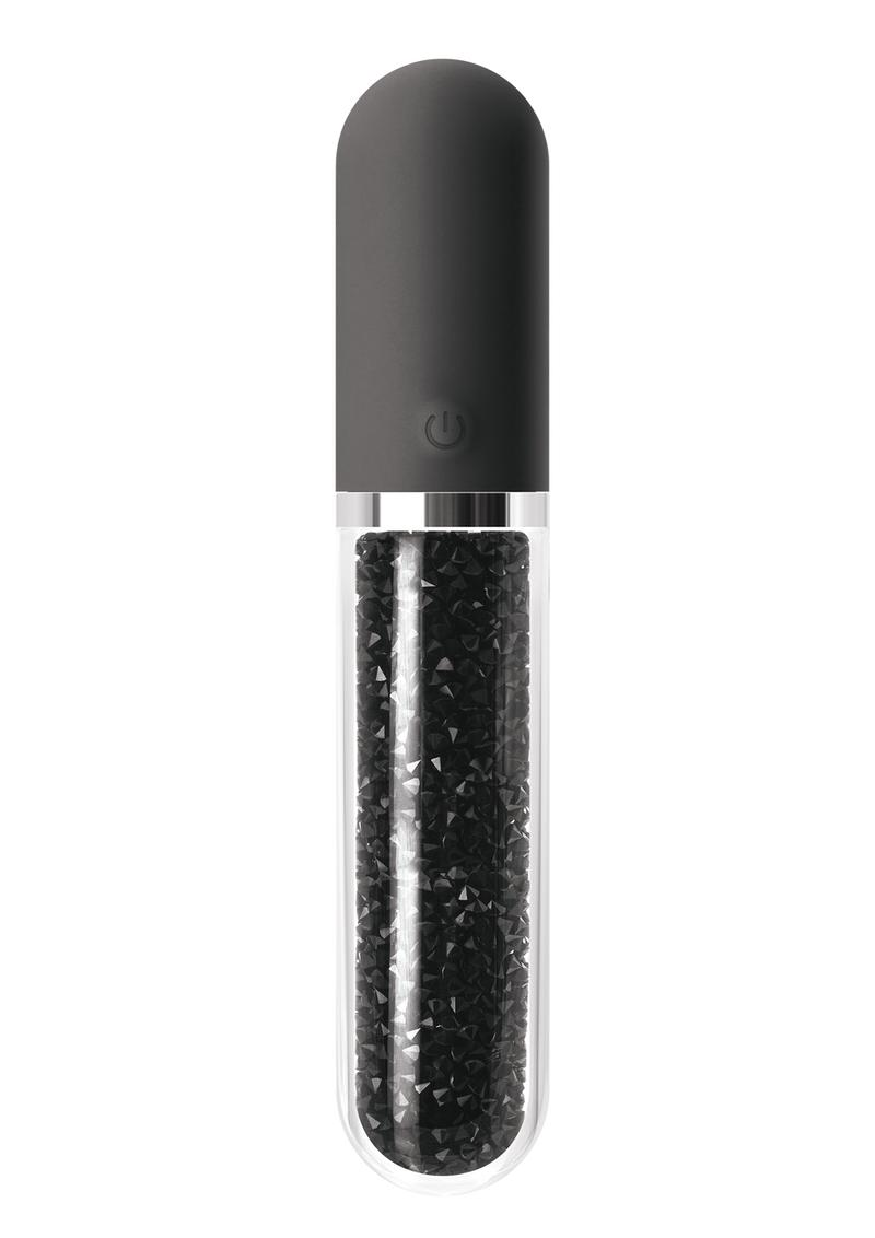 Stardust Charm Vibrator - Black