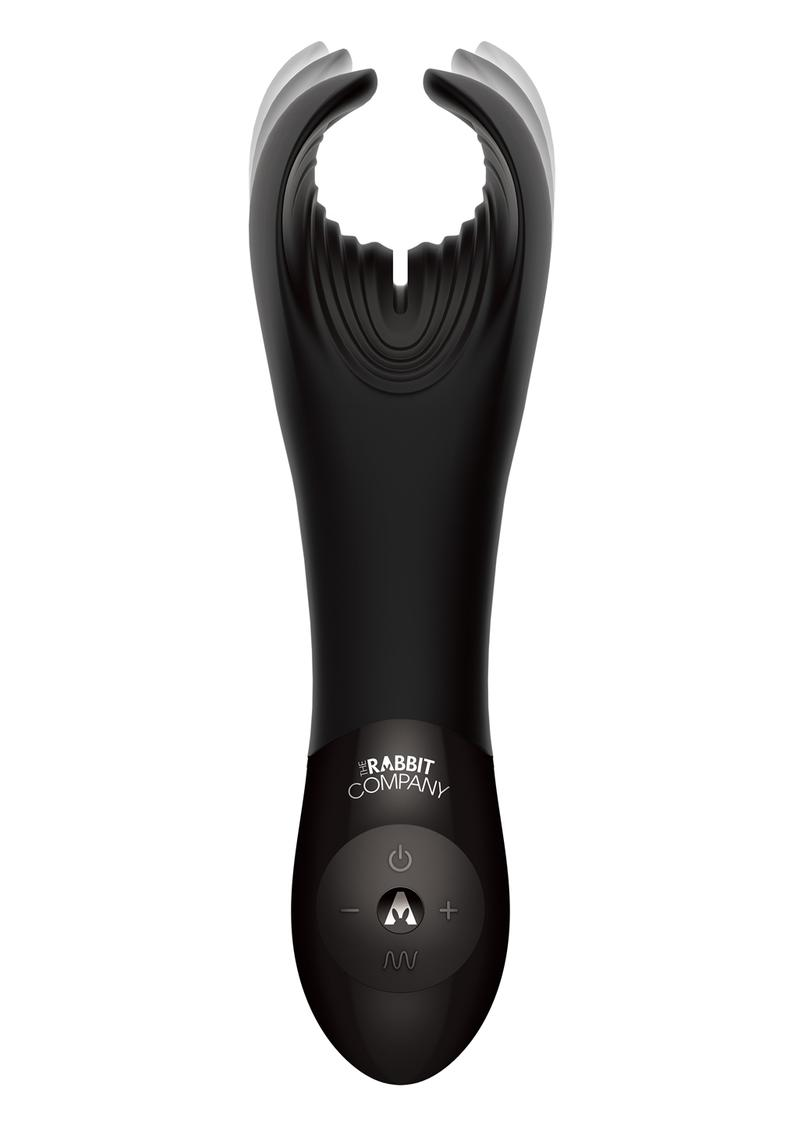 Rabbit Company The BJ Rabbit Rechargeable Silicone Vibrator - Black