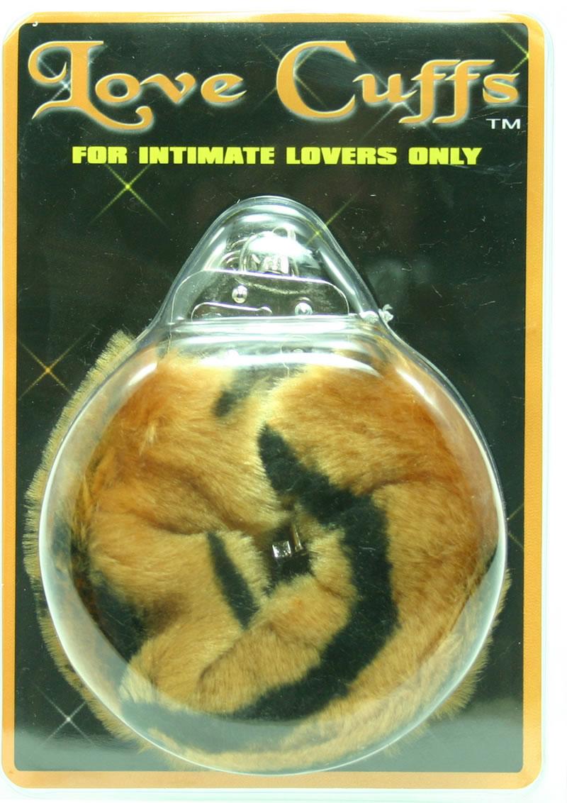Furry Love Cuffs - Lion