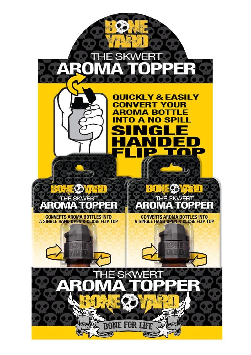 Skwert Aroma Topper Pos Kit 12pc