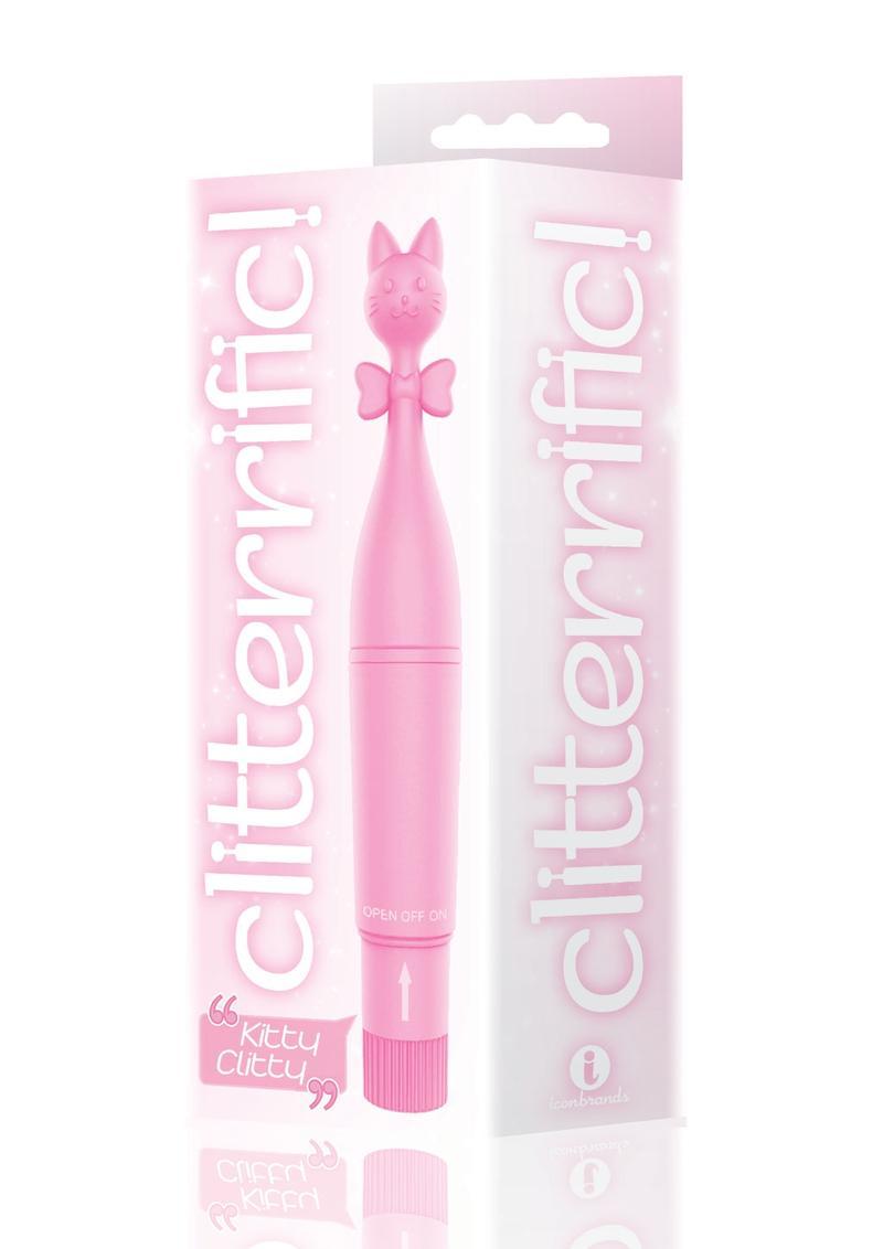 The 9`s - Clitterific! Kitty Clitty Clitoral Stimulator - Pink