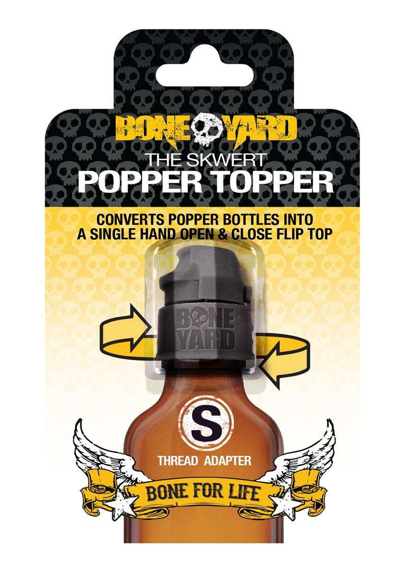 Boneyard Skwert Popper Topper - Small - Black