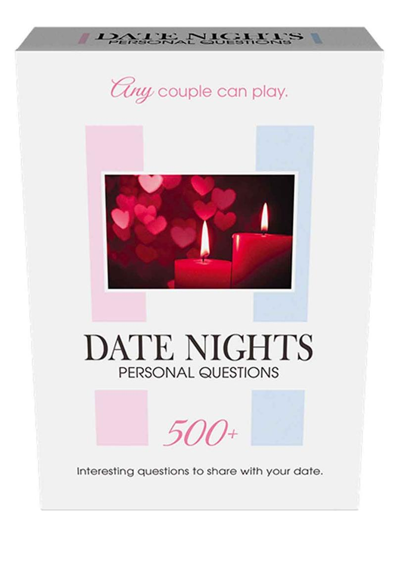Date Nights - Personal Questions Dice Game