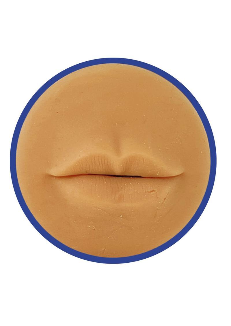 ME YOU US Deep Throat Torch Masturbator - Mouth - Vanilla