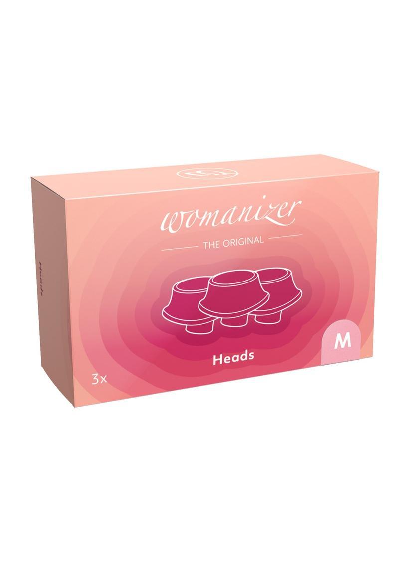 Womanizer Eco Heads Rose Medium (3 Per Pack) - Pink