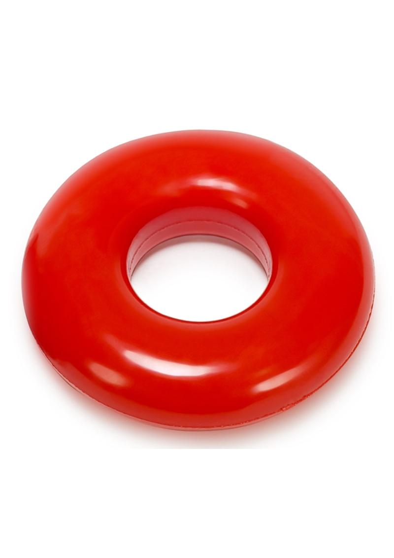 Oxballs Atomic Jock Do-Nut-2 Fatty Cock Ring - Red