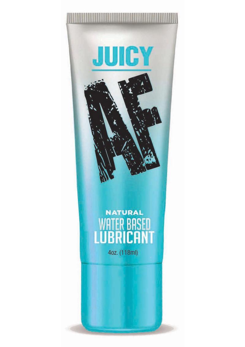 Juicy AF Natural Water Based Lubricant 4oz