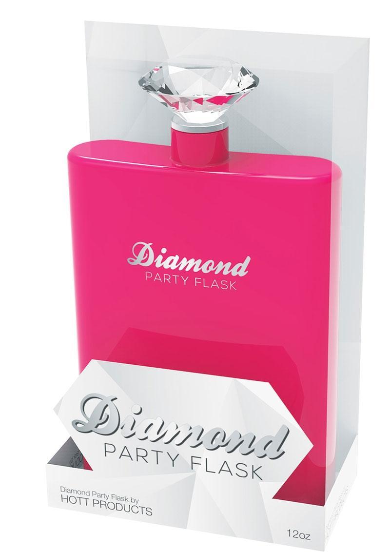 Diamond Party Flask - Pink