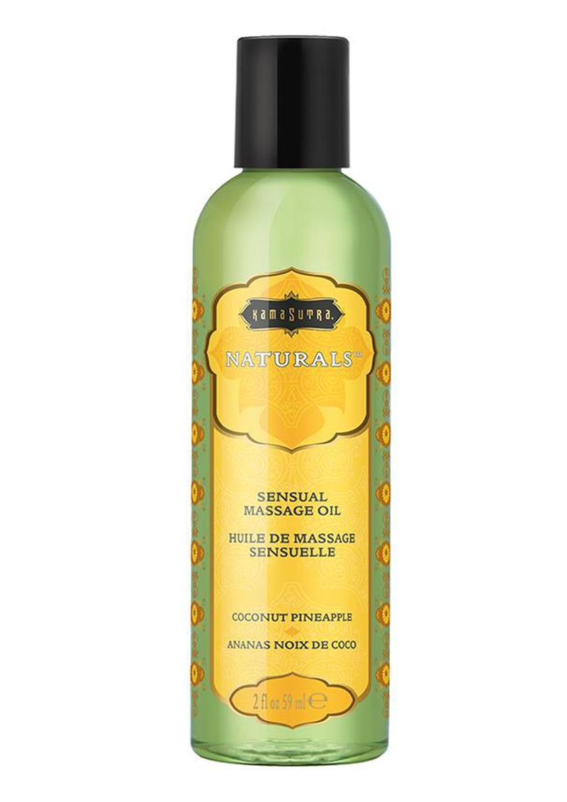 Naturals Massage Oil 2oz - Coconut-Pineapple