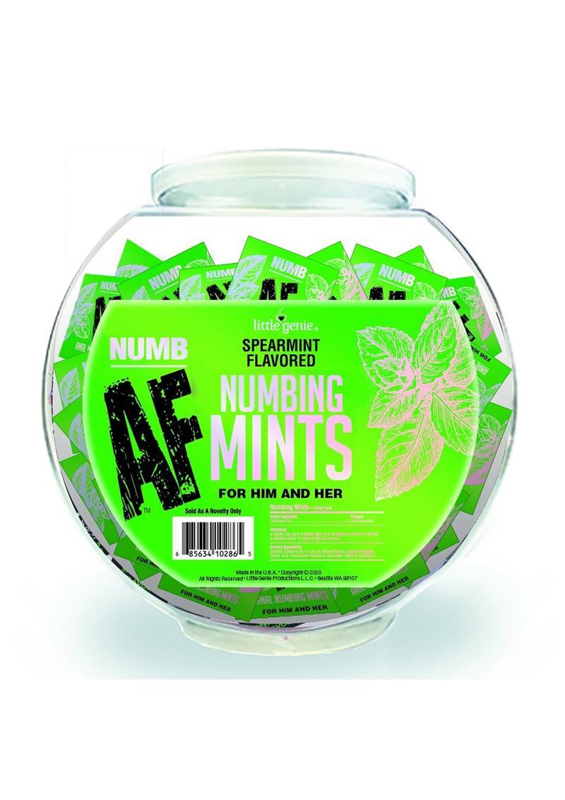 Numb AF Mints Fishbowl