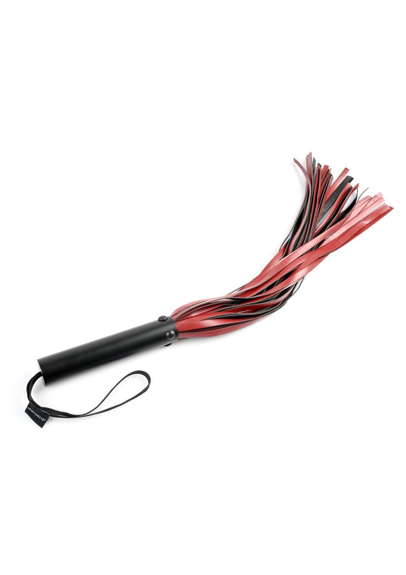 Saffron Flogger - Black/Red