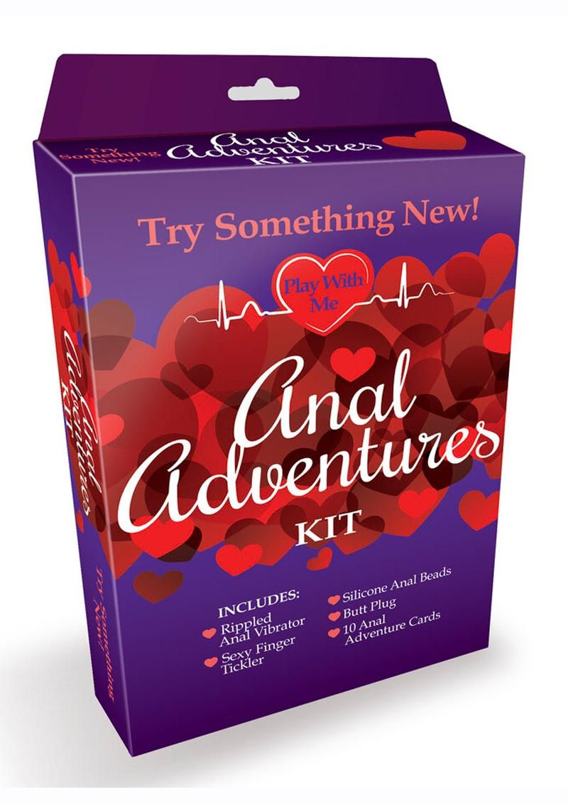 Anal Adventures Kit (Set of 6)