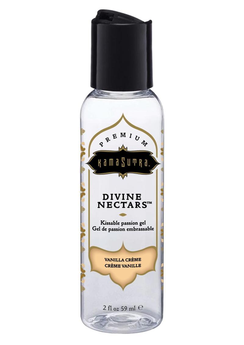 Kama Sutra Divine Nectars Body Glide Vanilla Crème 2oz