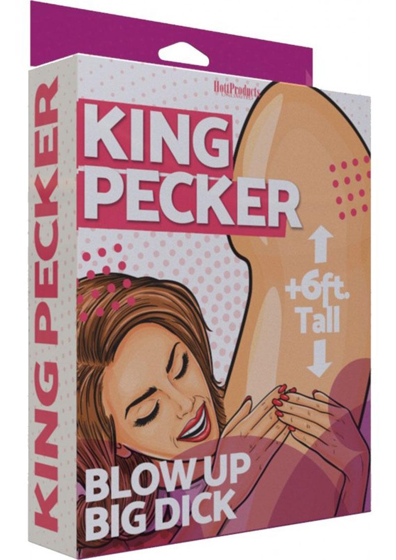 King Pecker Inflatable 5ft - Vanilla