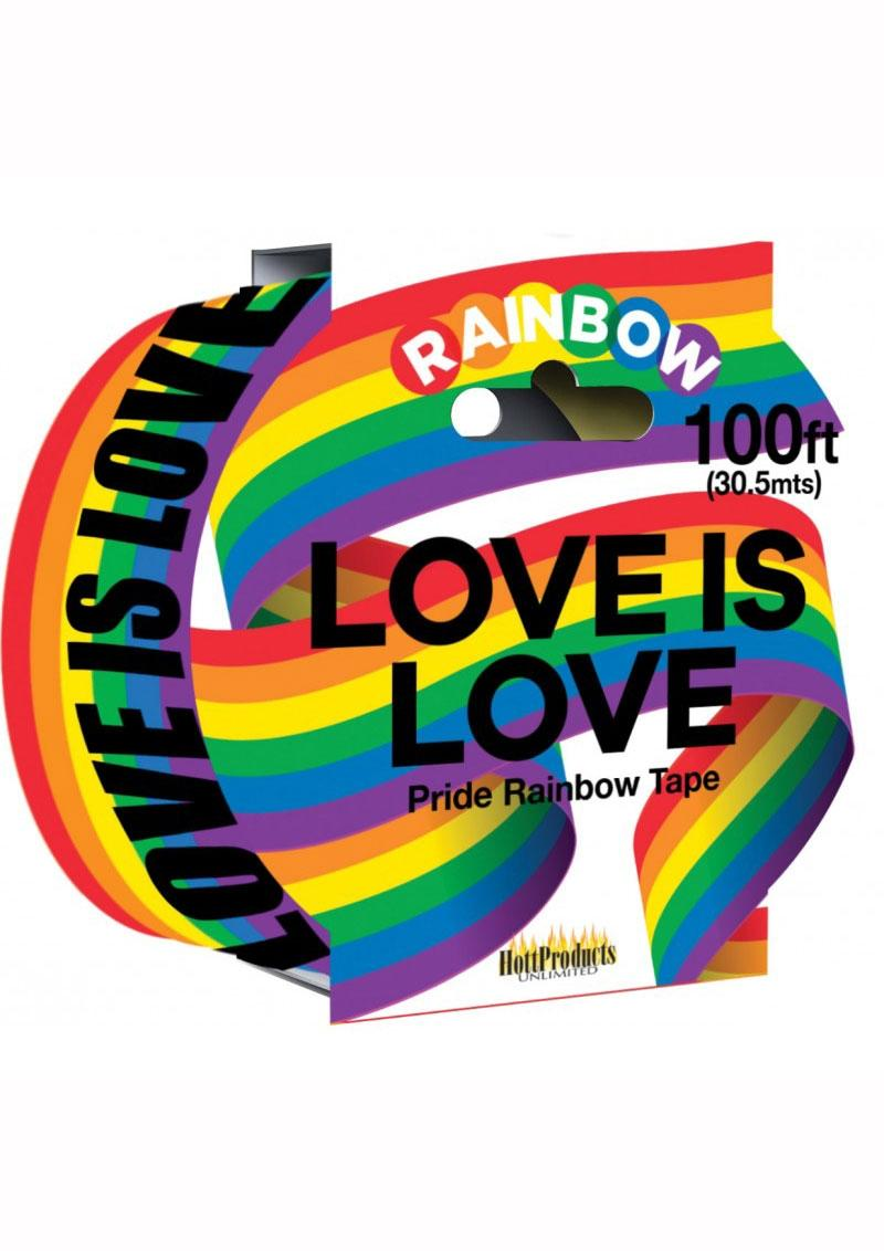 Rainbow Caution Tape - Multi Color