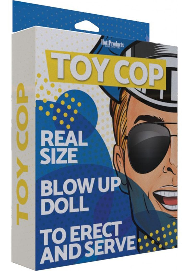 Toy Cop Blow-Up Doll 5.5ft - Vanilla