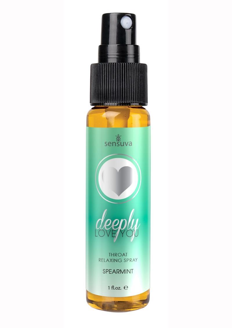 Deeply Love You Throat Relaxing Spray Spearmint 1oz Spray