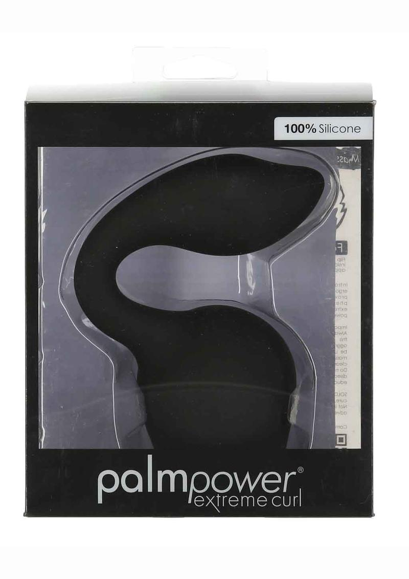 Palm Power Extreme Curl Silicone Wand Attachment - Black