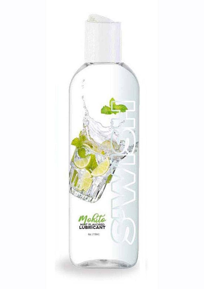 Swish Mojito Water Based Flavored Lubricant Mint 4oz
