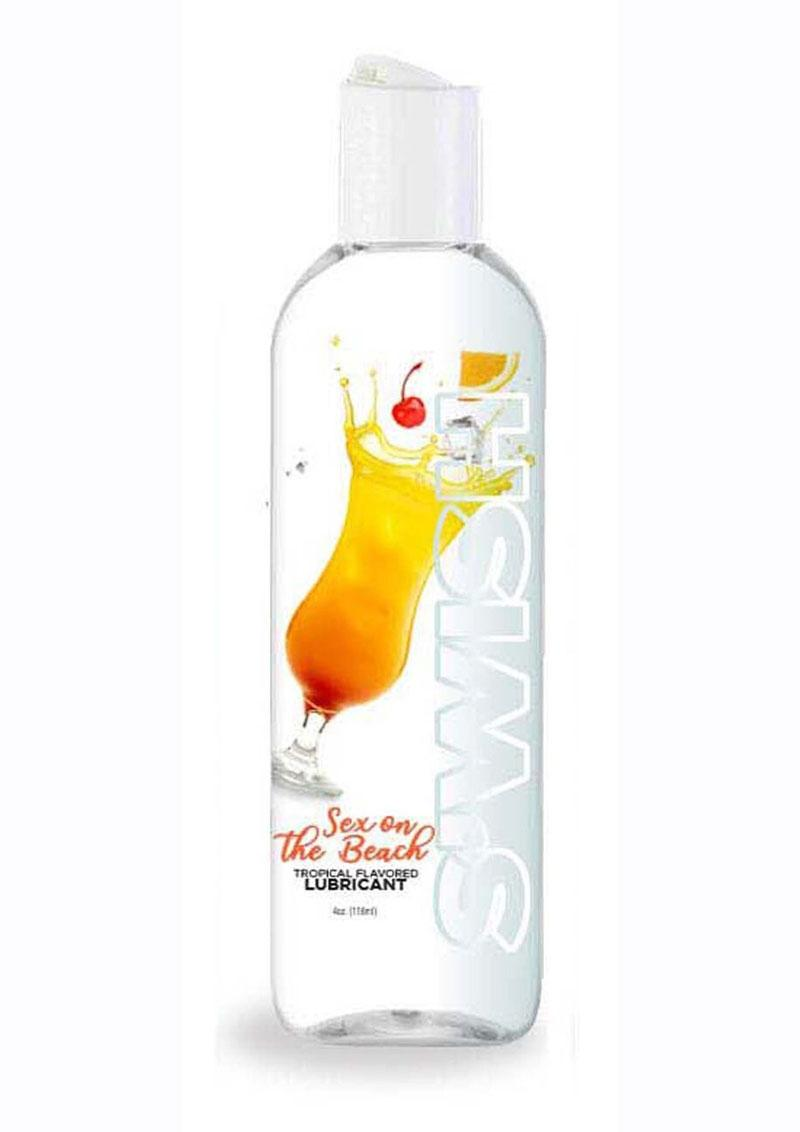Swish Sex On The Beach Water Based Flavored Lubricant Tropical 4oz