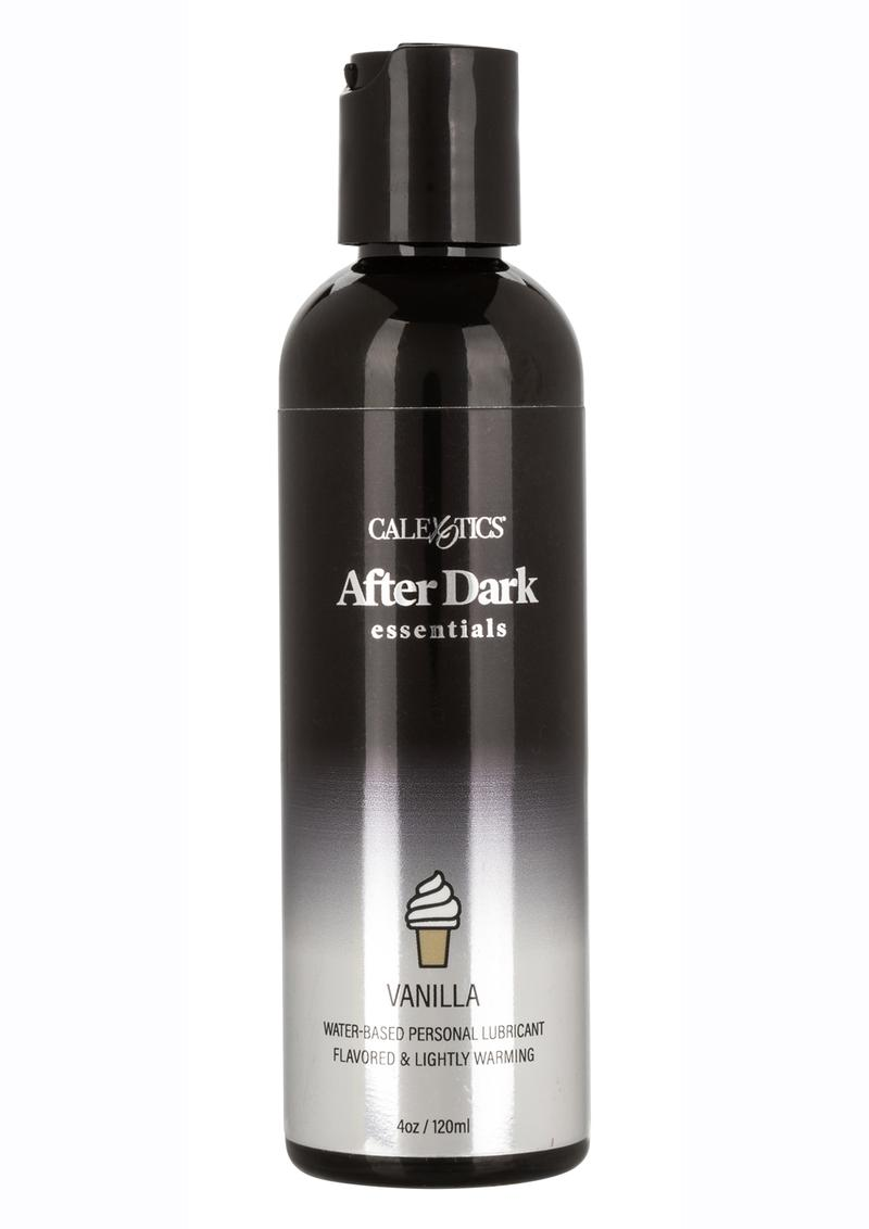 After Dark Essentials Water-Based Flavored Personal Warming Lubricant Vanilla 4oz
