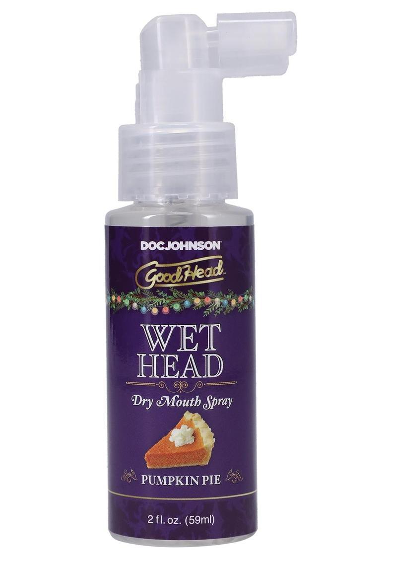 GoodHead Holiday Wet Head Dry Mouth Spray 2oz - Pumpkin Pie