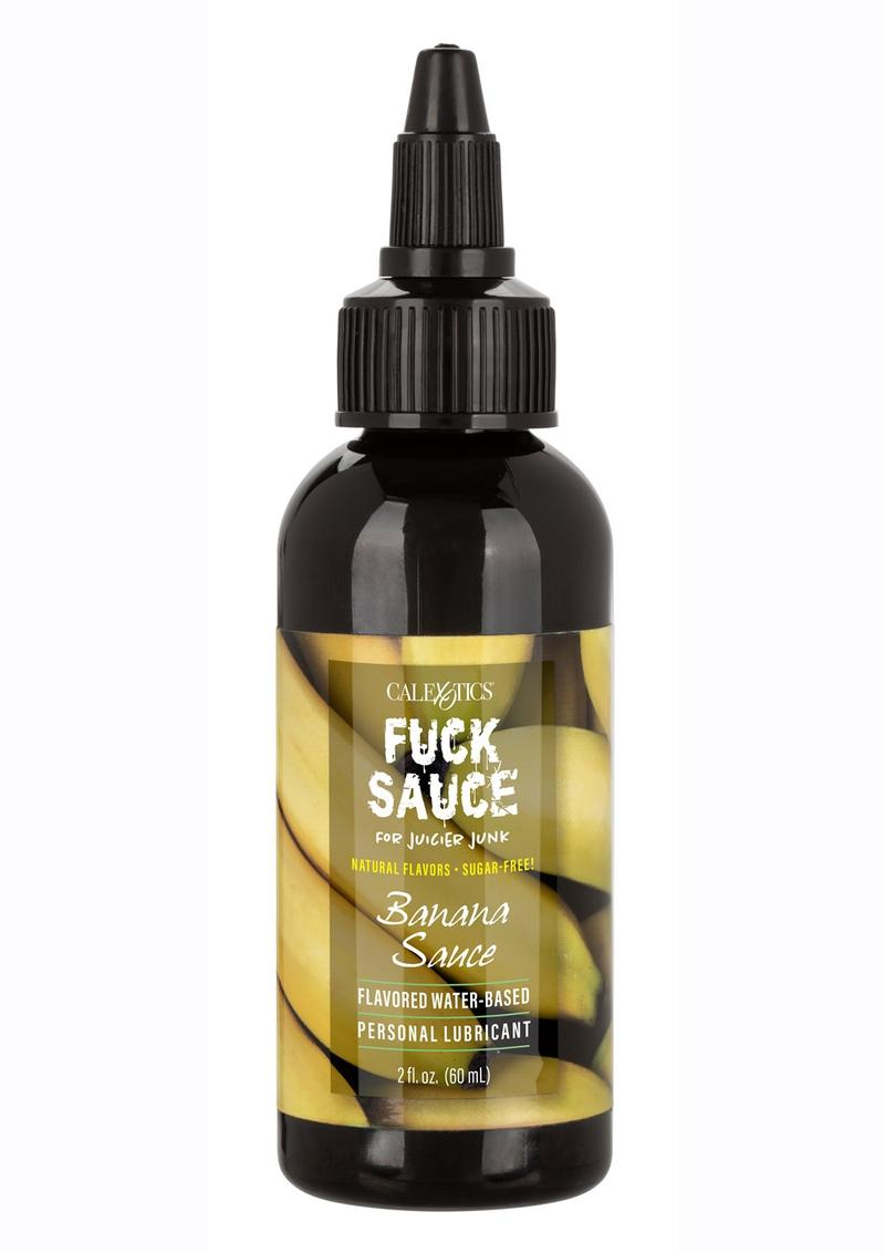 Fuck Sauce Flavored Water Based Personal Lubricant Banana 2oz