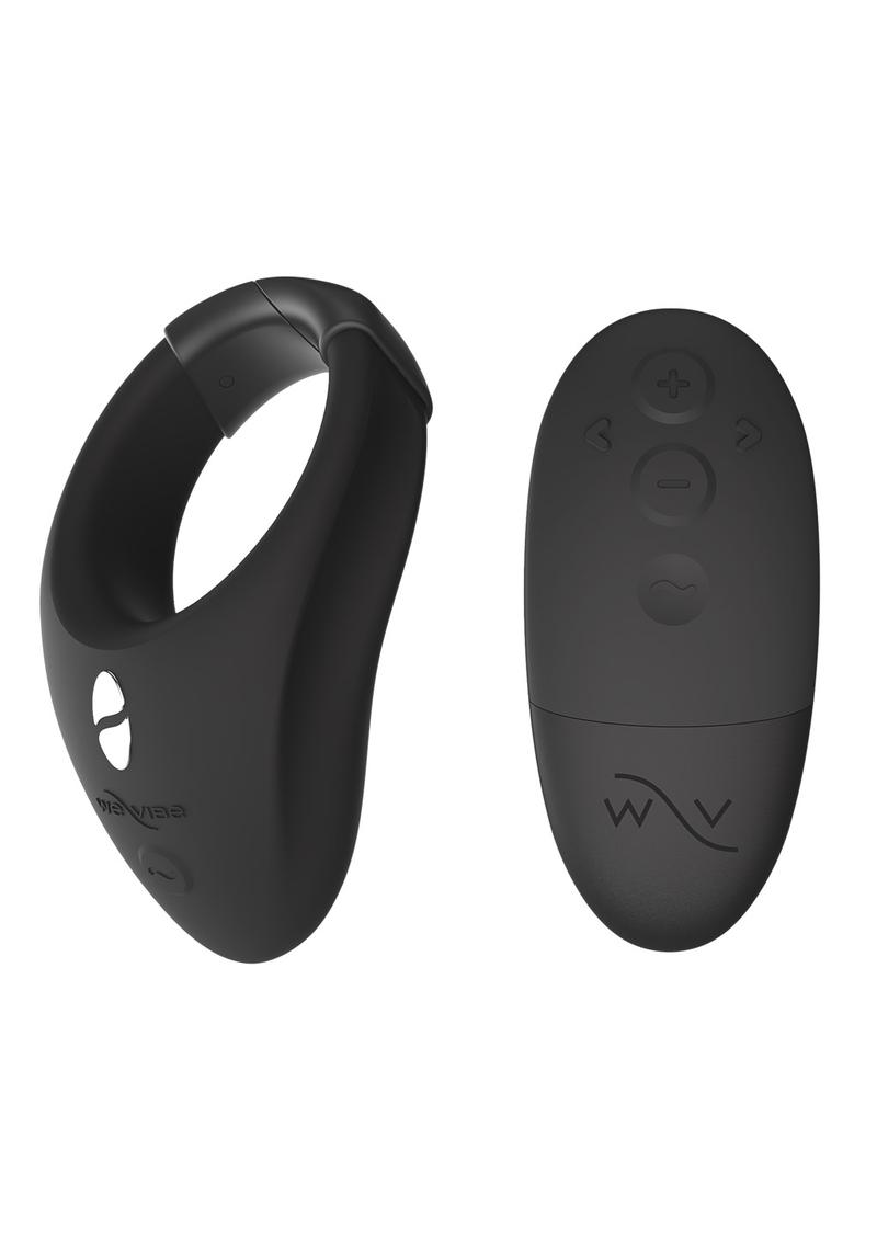 We-Vibe Bond Rechargeable Silicone Cock Ring - Black