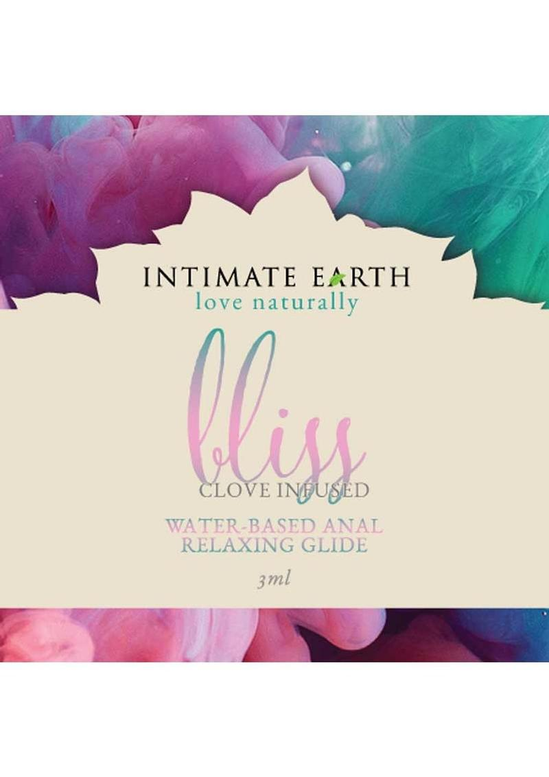 Intimate Earth Bliss Anal Relaxing Water Based Glide 3ml Foil