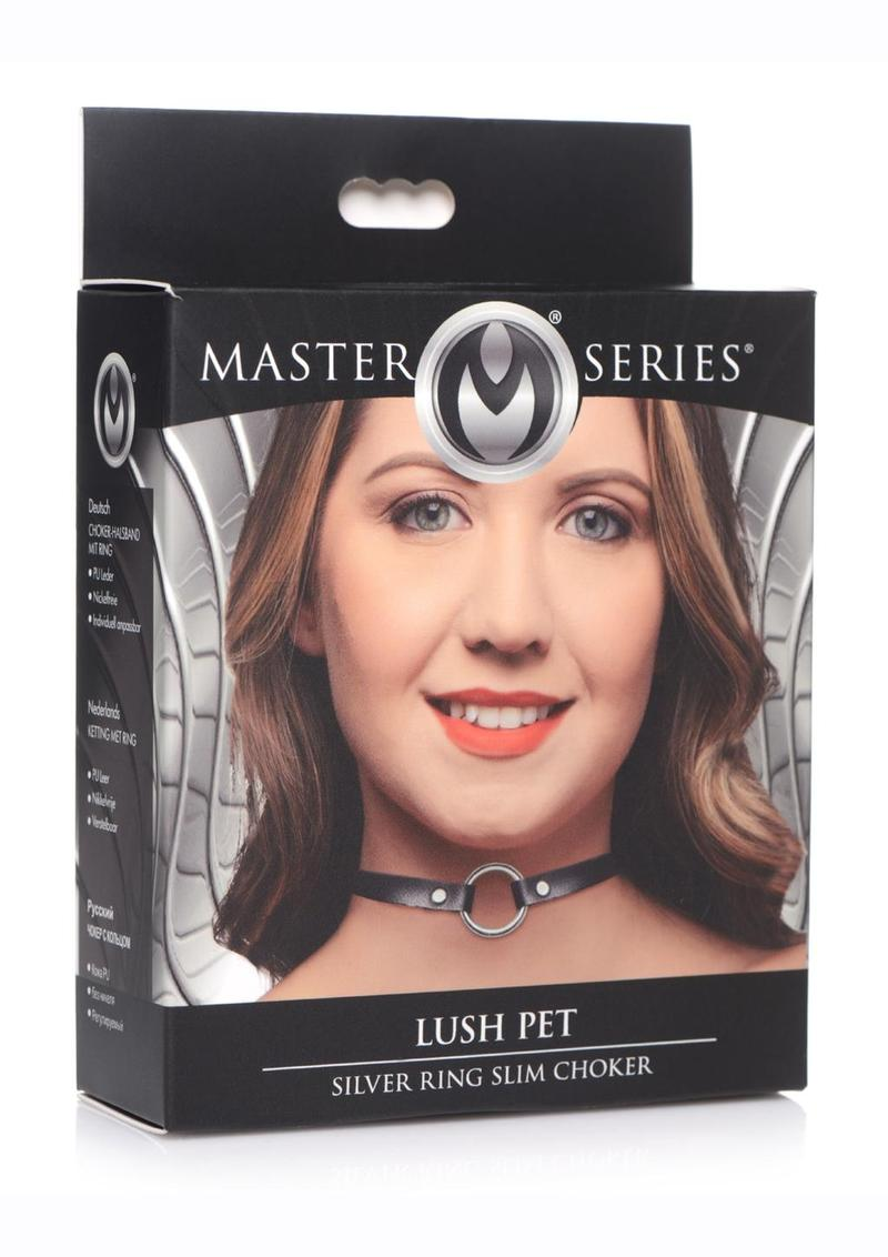 Master Series Silver Ring Slim Choker