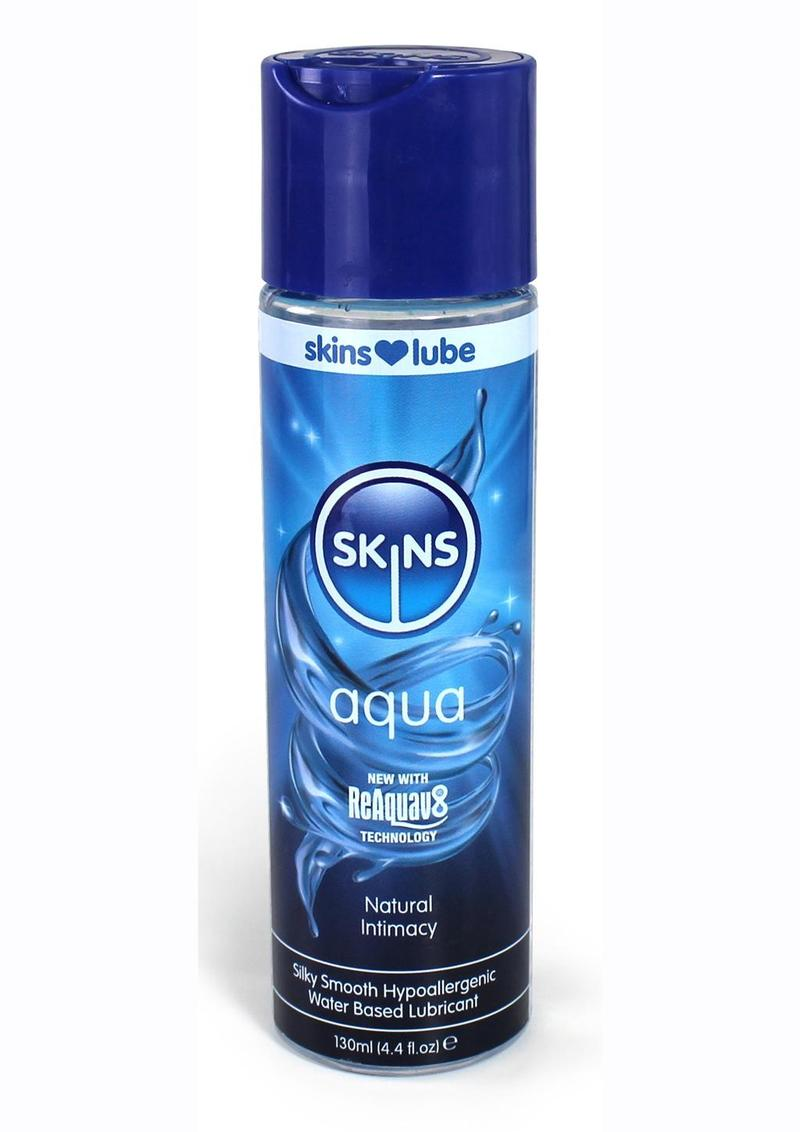 Skins Aqua Water Based Lubricant 4.4oz